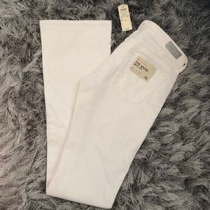 AG White Boot Cut Jeans - The Angel